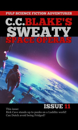 Sweaty Space Operas Issue 11