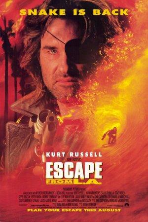 Escape From LA-poster